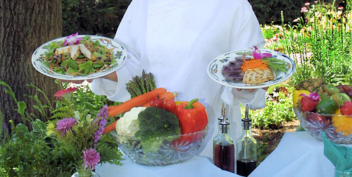 Spa Cuisine at the Heartland Spa and Fitness Resort.